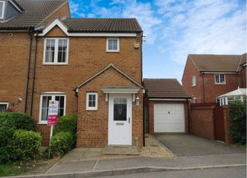 Thumbnail 3 bed end terrace house for sale in Thorneydene Gardens, Grantham
