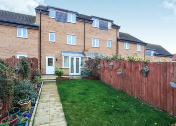 Thumbnail 4 bed terraced house for sale in Fletcher Way, Gunthorpe, Peterborough
