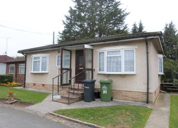 Thumbnail 2 bed mobile/park home for sale in Longcroft Drive, Waltham Cross