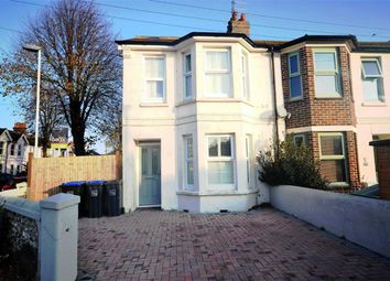 Thumbnail 3 bed end terrace house for sale in Kingsland Road, Broadwater, Worthing, West Sussex