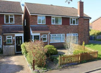 Thumbnail 3 bed semi-detached house for sale in Brocks Close, Godalming