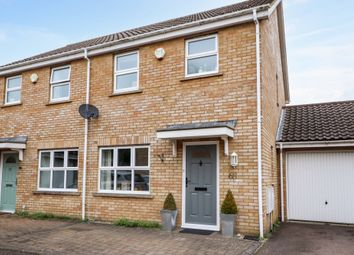Thumbnail 3 bed semi-detached house for sale in Coxs End, Over, Cambridge