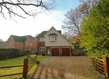 Thumbnail 4 bedroom detached house for sale in Middleton Road, Camberley, Surrey