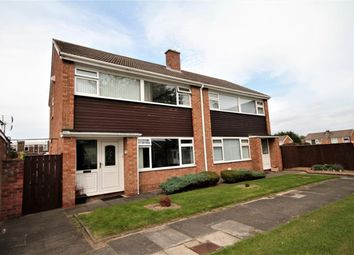 Thumbnail 3 bed semi-detached house for sale in Boltby Close, Middlesbrough