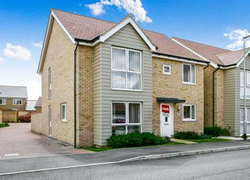 Thumbnail 4 bed detached house for sale in Bisley Crescent, Upper Cambourne, Cambridge