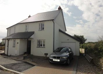 Thumbnail 3 bed semi-detached house to rent in Priestacott Park, Kilkhampton, Bude, Cornwall