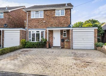 Thumbnail 3 bed detached house for sale in Windlesham, Surrey