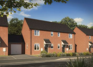 "Thumbnail 3 bed semi-detached house for sale in ""The Elliot"" at Milestone Road, Stratford-Upon-Avon"