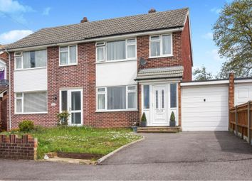 Thumbnail 3 bed semi-detached house for sale in Rothbury Close, Sholing, Southampton