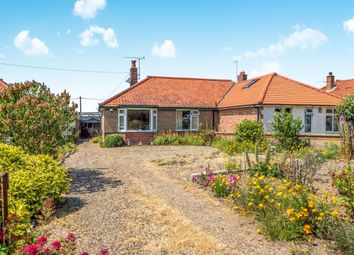 Thumbnail 2 bed semi-detached bungalow for sale in Norwich Road, Cromer