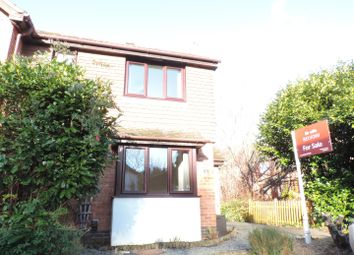 Thumbnail 1 bed terraced house for sale in Devoil Close, Burpham, Guildford
