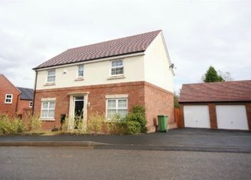 Thumbnail 4 bedroom detached house to rent in Red Norman Rise, The Furlongs, Hereford