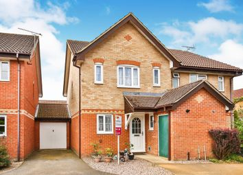 Thumbnail 3 bed terraced house for sale in Brunswick Close, Toftwood, Dereham