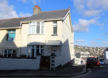 Thumbnail 4 bed end terrace house to rent in Queens Road, Plymouth