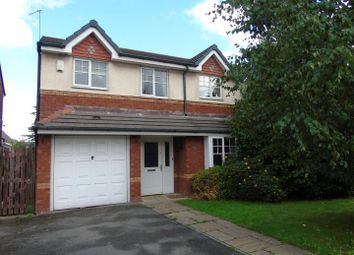 Thumbnail 4 bed detached house to rent in Whinberry Drive, Kirkby, Liverpool