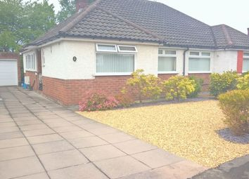 Thumbnail 3 bed bungalow to rent in Sutton Drive, Chester