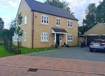 Thumbnail 4 bed detached house for sale in Grafham Drive, Waddington, Lincoln