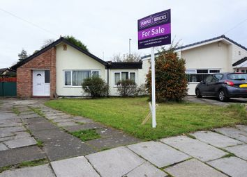 Thumbnail 3 bed bungalow for sale in Chiltern Drive, Liverpool