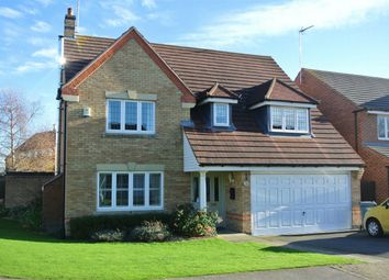 Thumbnail 4 bed detached house for sale in Tarragon Way, Bourne, Lincolnshire