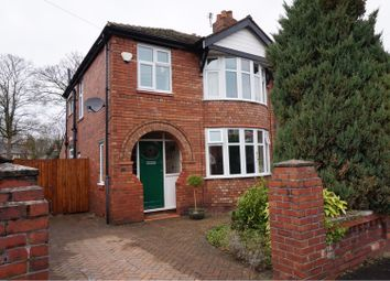 Thumbnail 3 bed semi-detached house for sale in Haughton Drive, Manchester