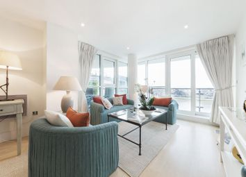 Thumbnail 1 bedroom flat to rent in Ensign House, 12 St George Wharf, London, London