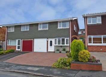 Thumbnail 4 bedroom semi-detached house for sale in Hunnington Crescent, Halesowen