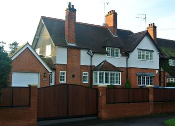 Thumbnail 4 bed semi-detached house to rent in Bagshot Road, Chobham, Woking