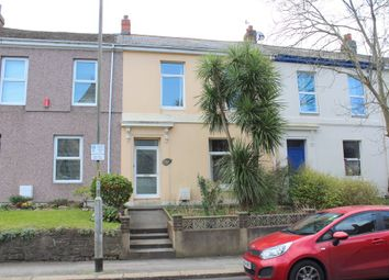 Thumbnail 3 bed terraced house for sale in North Road West, Plymouth