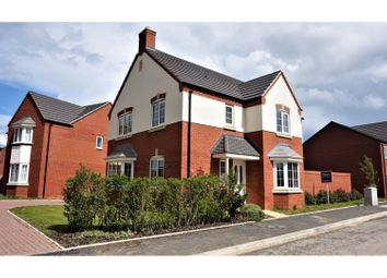 Thumbnail 4 bed detached house for sale in Enstone Way, Evesham