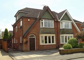 Thumbnail 4 bed semi-detached house for sale in Moorhey Drive, Penwortham, Preston