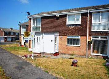 Thumbnail 2 bed flat for sale in Elmway, Chester Le Street