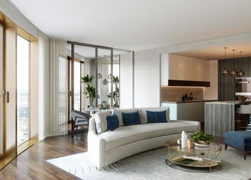 Thumbnail 2 bed flat for sale in Spire London Canary Wharf, London