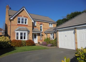 Thumbnail 4 bedroom detached house for sale in Birchlee Close, Priorslee, Telford