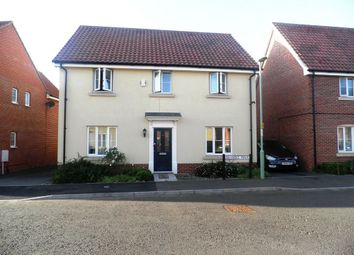 Thumbnail 4 bed detached house to rent in Bramble Walk, Beck Row, Bury St. Edmunds
