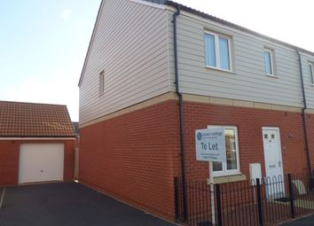 Thumbnail 3 bed semi-detached house to rent in Somerville Crescent, Exeter
