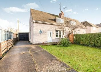 Thumbnail 2 bed semi-detached house for sale in Rowthorne Lane, Glapwell, Chesterfield, Derbyshire