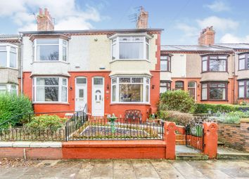 Thumbnail 3 bed end terrace house for sale in Albany Road, Tranmere, Birkenhead