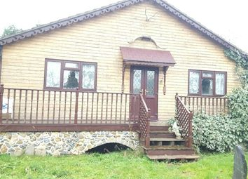 Thumbnail 2 bed lodge for sale in 40-41 Roydon Lodge, Roydon Lodge Estate, Roydon, Essex