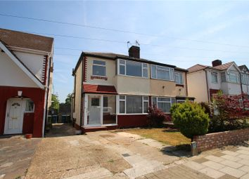 Thumbnail 4 bed semi-detached house to rent in Aldridge Avenue, Stanmore, Middlesex