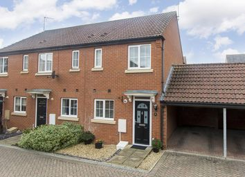 Thumbnail 2 bed end terrace house for sale in Knighton Close, Hampton Vale, Peterborough