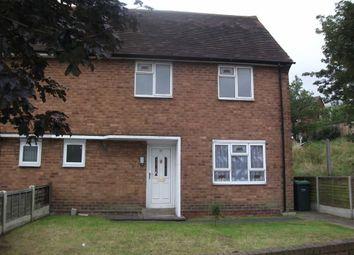 Thumbnail 3 bedroom semi-detached house to rent in Asbury Road, Wednesbury