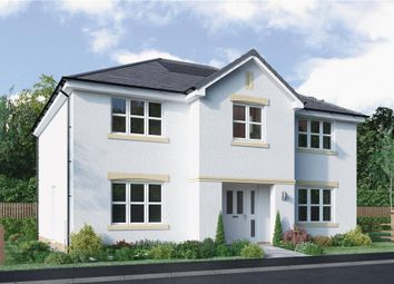 "Thumbnail 5 bed detached house for sale in ""Hopkirk"" at North Road, Liff, Dundee"