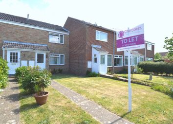 Thumbnail 2 bed terraced house to rent in Vixen Close, Hill Head, Fareham