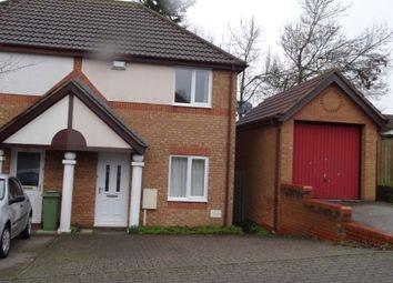 Thumbnail 2 bedroom semi-detached house for sale in Eelbrook Avenue, Bradwell Common, Milton Keynes