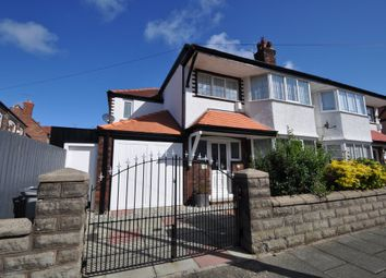 Thumbnail 4 bed semi-detached house for sale in Malpas Road, Wallasey