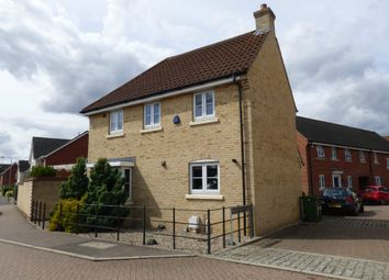 Thumbnail 3 bed semi-detached house for sale in Brookfield Close, Long Stratton, Norwich