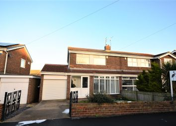 Thumbnail 3 bed semi-detached house for sale in Vicarage Close, New Silksworth, Sunderland