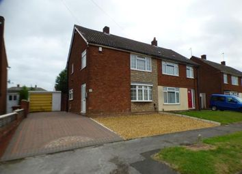 Thumbnail 3 bedroom semi-detached house for sale in Jessie Road, Walsall, West Midlands