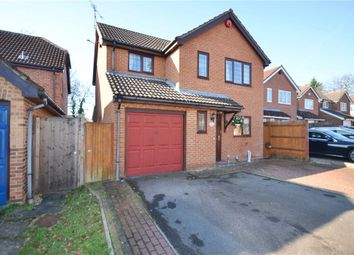 Thumbnail 4 bed detached house for sale in Swepstone Close, Lower Earley, Reading