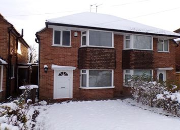 Thumbnail 3 bed property to rent in Wichnor Road, Solihull